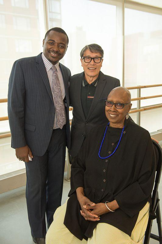 Artistic Director Robert Battle, Associate Artistic Director Masazumi Chaya, Artistic Director Emerita Judith Jamison