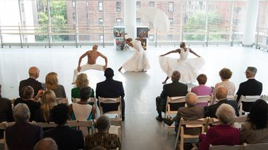 Jacqueline Green and members of Ailey II