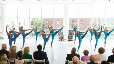 Students from The Ailey School