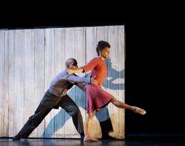 Glenn Allen Sims and Jacquelin Harris in Johan Inger's Walking Mad
