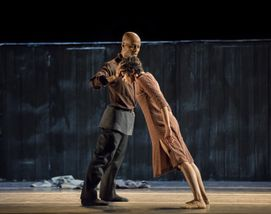 Vernard J. Gilmore and Sarah Daley-Perdomo in Johan Inger's Walking Mad