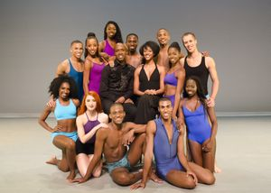 Artistic Director Troy Powell and Rehearsal Director Fana Fraser with Ailey II