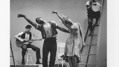 Alvin Ailey, Carmen de Lavallade and Company in Alvin Ailey's Blues Suite. Photo by Jack Mitchell. (©) Alvin Ailey Dance Foundation, Inc. and Smithsonian Institution