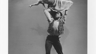 Alvin Ailey, Carmen de Lavallade in Alvin Ailey's Blues Suite. Photo by Jack Mitchell. (©) Alvin Ailey Dance Foundation, Inc. and Smithsonian Institution