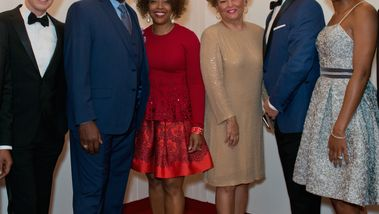 Executive Director Bennett Rink, Artistic Director Robert Battle and co-chairs of 2016 DC Gala