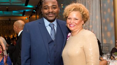 Artistic Director Robert Battle and Debra Lee at 2016 DC Gala