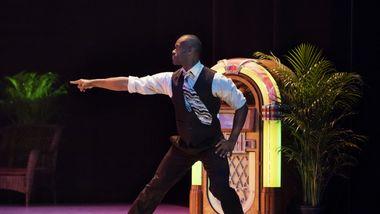 AAADT's Jamar Roberts in Alvin Ailey's Masekela Langage