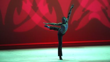 Chalvar Monteiro in Alvin Ailey's Revelations