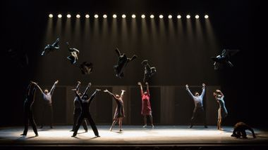 Alvin Ailey American Dance Theater in Johan Inger's Walking Mad