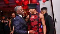 Art Collins, AAADT's Jeroboam Bozeman at Ailey's 2017 DC Gala