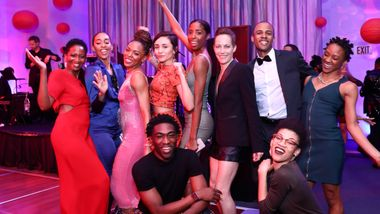 Alvin Ailey American Dance Theater and Sheyi Ojofeitimi at Ailey's 2017 DC Gala