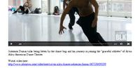 NBC News - Young, Gifted & Black: Dancer Solomon Dumas Finds His Rhythm