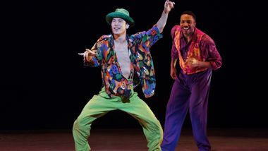 AAADT's Kanji Segawa and Michael Jackson Jr. in Billy Wilson's The Winter in Lisbon