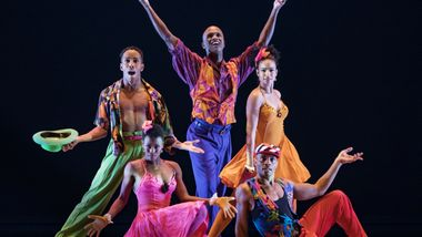 Alvin Ailey American Dance Theater in Billy Wilson's The Winter In Lisbon