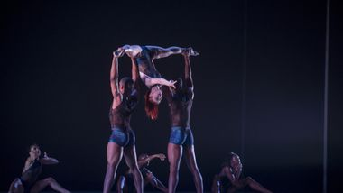 Ailey II in Renee McDonald's Breaking Point. Photo by Judy Ondrey