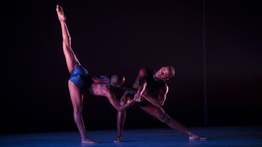Ailey II's Jessica Amber Pinkett and Christopher R. Wilson in Renee McDonald's Breaking Point. Photo by Judy Ondrey