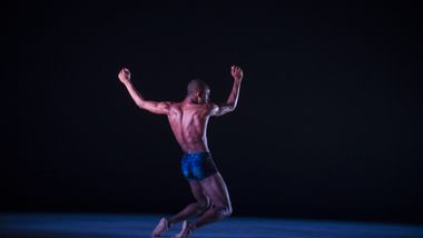 Ailey II's Kyle H. Martin in Renee McDonald's Breaking Point. Photo by Judy Ondrey