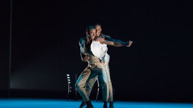 Ailey II's Christopher R. Wilson and Marcus Williams in Touch & Agree by Juel D. Lane. Photo by Shoccara Marcus