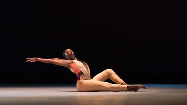 Ailey II's Khalia Campbell in Touch & Agree by Juel D. Lane. Photo by Shoccara Marcus