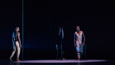 Ailey II's Marcus Williams and Christopher R. Wilson in Touch & Agree by Juel D. Lane. Photo by Shoccara Marcus
