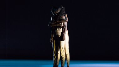 Ailey II's Yazzmeen Laidler and Khalia Campbell in Touch & Agree by Juel D. Lane. Photo by Shoccara Marcus