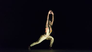Ailey II's Yazzmeen Laidler in Touch & Agree by Juel D. Lane. Photo by Shoccara Marcus