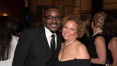 Artistic Director Robert Battle and Board President Debra Lee. Photo by Christopher Duggan.