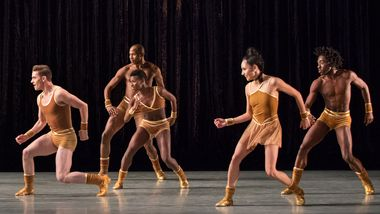 Alvin Ailey American Dance Theater in Twyla Tharp's The Golden Section