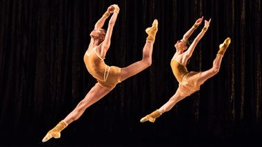 AAADT's Jacqueline Green and Danica Paulos in Twyla Tharp's The Golden Section