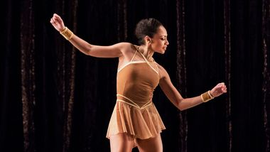 AAADT's Linda Celeste Sims in Twyla Tharp's The Golden Section