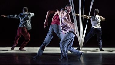 AAADT's Sean Aaron Carmon, Danica Paulos and the Company in Gustavo Ramírez Sansano's Victoria