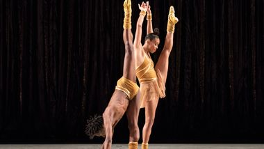 AAADT's Constance Stamatiou and Chalvar Monteiro in Twyla Tharp's The Golden Section