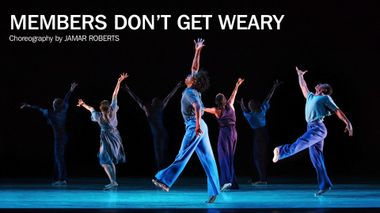 Jamar Roberts' Members Dont Get Weary B-Roll
