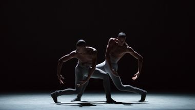 Christopher Wilson and Jacoby Pruitt in Jae Man Joo's Circular