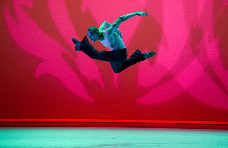 AAADT's Clifton Brown in Alvin Ailey's Revelations
