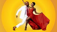 Alvin Ailey American Dance Theater's Glenn Allen Sims and Rachael McLaren. Photo by Andrew Eccles.