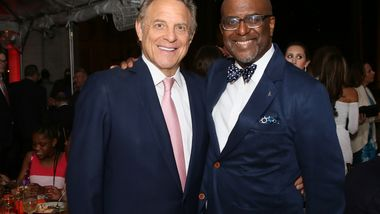 Honoree Stephen J. Meringoff and Gala Co-Chair Marc Strachan. Photo by Donna Ward.
