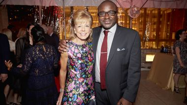 Board Chariman Daria L. Wallach and Artistic Director Robert Battle. Photo courtesy of Ailey.