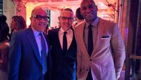 Darren Walker, Executive Director Bennett Rink, and Charles Blow. Photo by Daniel Vasquez.