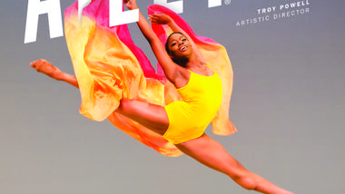 Ailey II 2017-2018 Season Poster. Jessica Amber Pinkett. Photo by Kyle Froman.
