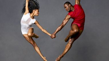 AAADT's Jacqueline Green and Jamar Roberts. Photo by Andrew Eccles