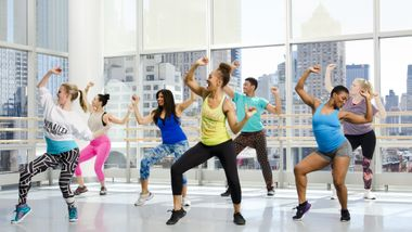 Zumba at Ailey Extension. Kyle Froman.