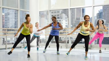 Zumba at Ailey Extension. Photo by Kyle Froman.