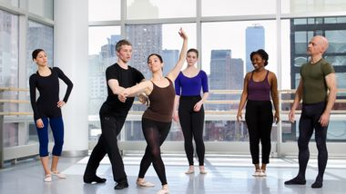 Ballet with Peter Brandenhoff. Photo by Kyle Froman.