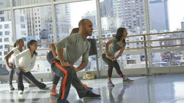 DanzaTone with Jose Ozuna at Ailey Extension. Photo by Tiba Vieira.