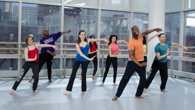 Contemporary Latin Jazz Fusion with Sekou McMiller at Ailey Extension. Photo by Kyle Froman.