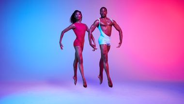 AAADT's Jacqueline Green and Michael Jackson Jr. Photo by Andrew Eccles.