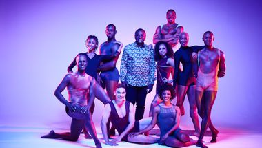 Alvin Ailey American Dance Theater with Artistic Director Robert Battle. Photo by Andrew Eccles