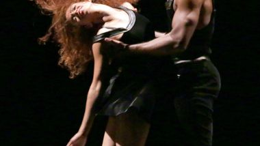 AAADT's Belen Pereyra and Glenn Allen Sims in Ulysses Dove's Episodes.  Photo by Francette Levieux