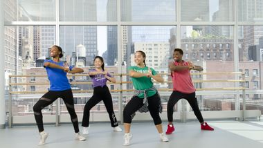 Teen Hip-Hop at Ailey Extension. Photo by Kyle Froman.